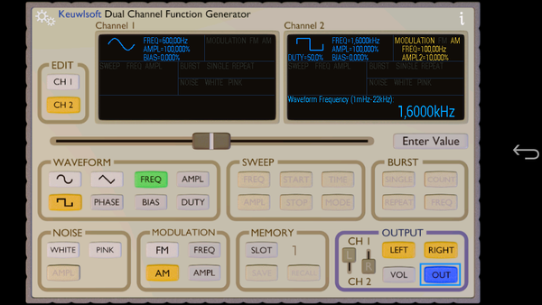 Function Generator - Right square